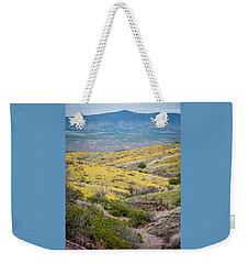 Wildflower Meadows Weekender Tote Bag by Karen Stephenson