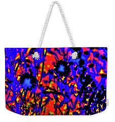 Wildflower Medley Weekender Tote Bag by Gina O'Brien