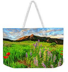 Wildflower Mix Weekender Tote Bag