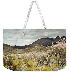 Wildflower Mountain Weekender Tote Bag by Andrea Hazel Ihlefeld