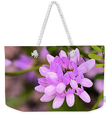 Wildflower Or Weed Weekender Tote Bag by Kathy Eickenberg