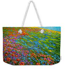 Wildflower Pastoral Weekender Tote Bag