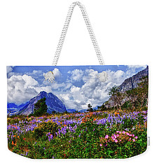 Wildflower Profusion Weekender Tote Bag