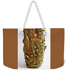 Wildflower Promise - Bronze Vase - Detail 2 Weekender Tote Bag