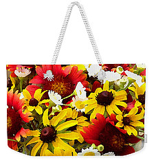 Wildflower Riot Weekender Tote Bag