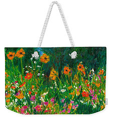 Wildflower Rush Weekender Tote Bag