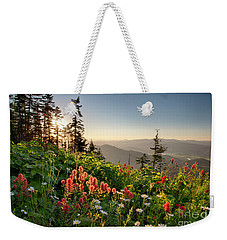 Wildflower View Weekender Tote Bag