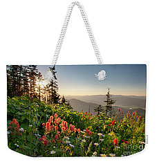 Evening Kisses Weekender Tote Bag