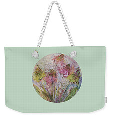 Weekender Tote Bag featuring the painting Wildflowers 2 by Mary Wolf