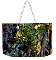 Wildflowers And Wood Weekender Tote Bag