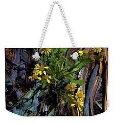 Wildflowers And Wood Weekender Tote Bag