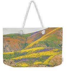 Wildflowers At The Summit Weekender Tote Bag