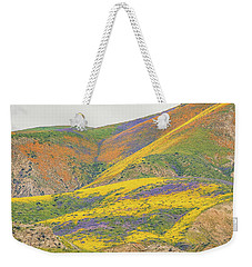 Wildflowers At The Summit Weekender Tote Bag