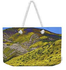 Wildflowers Galore At Carrizo Plain National Monument In California Weekender Tote Bag