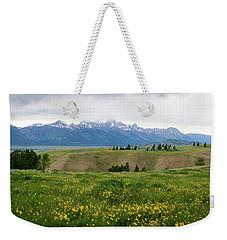 Wildflowers In The Grand Teton National Park Weekender Tote Bag