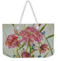 Wildflowers Weekender Tote Bag by Judith Rhue