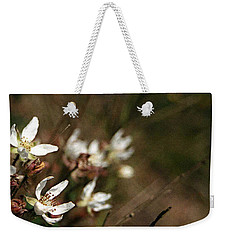 Weekender Tote Bag featuring the photograph Wildflowers by Marna Edwards Flavell