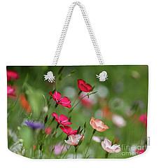 Wildflowers Meadow Weekender Tote Bag