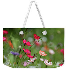 Wildflowers Meadow Weekender Tote Bag
