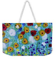 Wildflowers Never Die Weekender Tote Bag