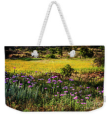 Wildflowers Of The Wichita Mountains Weekender Tote Bag by Tamyra Ayles
