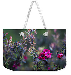 Wildflowers On A Cloudy Day Weekender Tote Bag