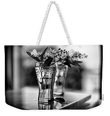 Weekender Tote Bag featuring the photograph Wildflowers Still Life by Laura Fasulo