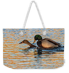 Wildlife Love Ducks  Weekender Tote Bag