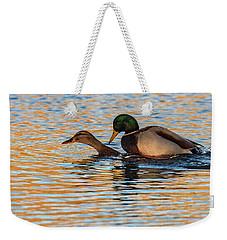 Wildlife Love Ducks  Weekender Tote Bag