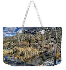 Weekender Tote Bag featuring the photograph Wildlife Water Hole by Alan Toepfer