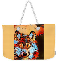 Wildlife Wolf 1 Weekender Tote Bag