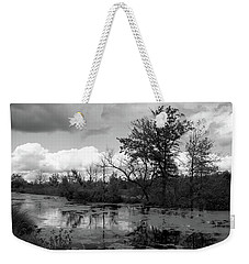 Wilds Along The Channel Weekender Tote Bag