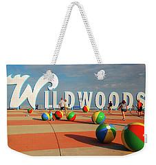 Wildwoods Weekender Tote Bag by James Kirkikis