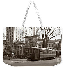 Wilkes Barre Pa Public Square Oct 1940 Weekender Tote Bag