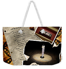 Weekender Tote Bag featuring the photograph Will The Circle Be Unbroken by Sandy MacGowan