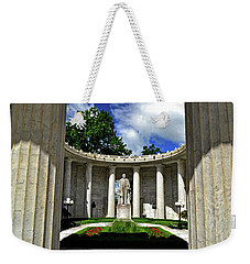 Weekender Tote Bag featuring the photograph William Mckinley Memorial 002 by George Bostian
