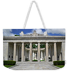 Weekender Tote Bag featuring the photograph William Mckinley Memorial 003 by George Bostian