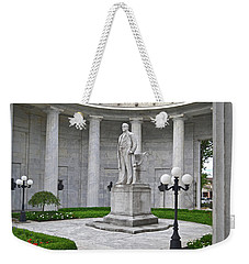 Weekender Tote Bag featuring the photograph William Mckinley Memorial 004 by George Bostian