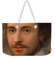 William Shakespeare Weekender Tote Bag