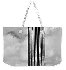 Williams Tower In Black And White Weekender Tote Bag