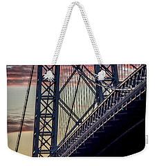 Williamsburg Bridge Structure Weekender Tote Bag