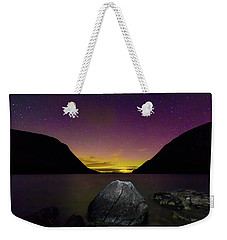 Willoughby Aurora And Boulder Weekender Tote Bag by Tim Kirchoff