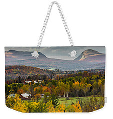Willoughby Gap Late Fall Weekender Tote Bag