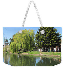 Jessica Willow Likes David Pine - Grand Union Canal - Park Royal  Weekender Tote Bag