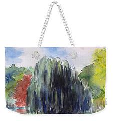 Willow Tree -2  Hidden Lake Gardens -tipton Michigan Weekender Tote Bag