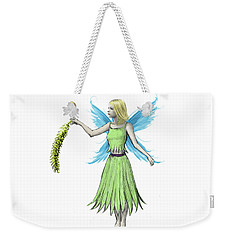 Willow Tree Fairy Holding A Catkin Weekender Tote Bag