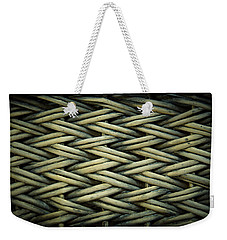 Weekender Tote Bag featuring the photograph Willow Weave by Les Cunliffe