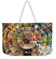 Weekender Tote Bag featuring the photograph Zenergy  by Cindy Greenstein