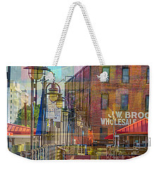 Wilmington North Carolina Riverfront Weekender Tote Bag