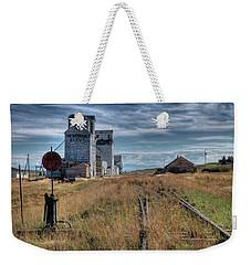 Wilsall Grain Elevators Weekender Tote Bag